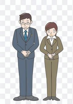 ac紛争 お辞儀 男性 女性 法律