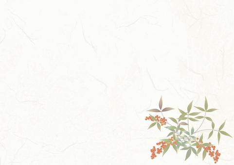Japanese paper _ Kimono pattern Southern sky