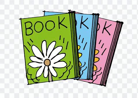 BOOKS_手寫的顏色