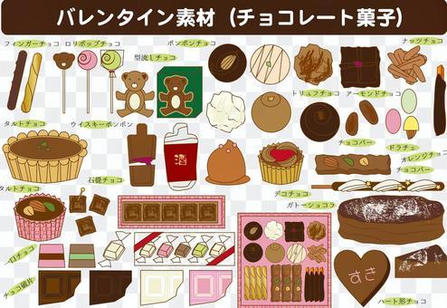 各種巧克力