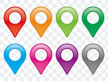 Glossy map tweezers