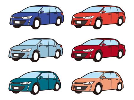 轎車 轎車 Wagon Hatchback Compact Car