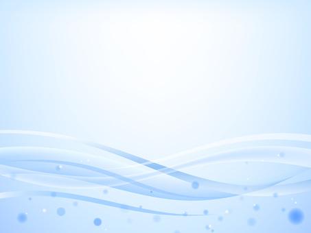 波浪背景 25 圓點藍色