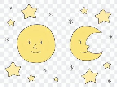 滿月和新月