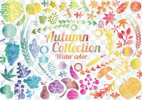 L-0131設計:秋季水彩畫集
