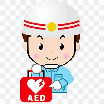 救命士_上半身(AED)