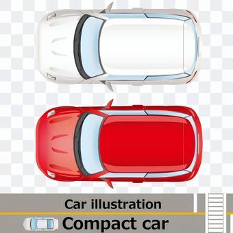 車上面5 コンパクトカー