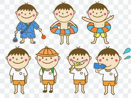 Children summer daily