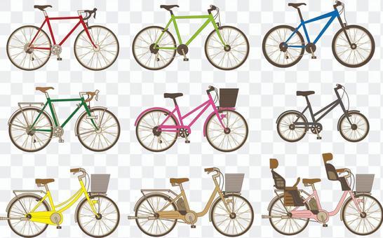 一個自行車的分類