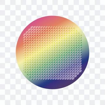 矽片的例證
