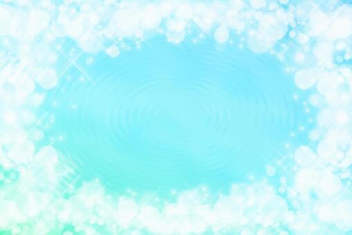波光粼粼的淺藍色