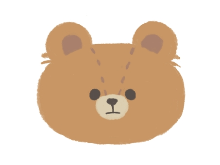 Teddy bear (true face)