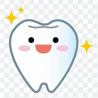 吉祥物的牙齒(閃亮)