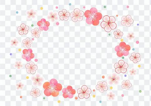 梅花框架_背景1800