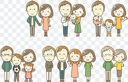 家庭改變_人生階段