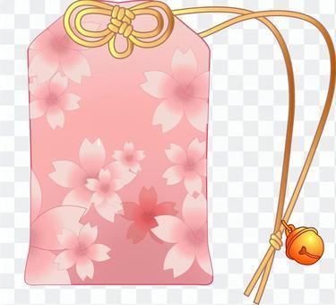 護身符模板C櫻花