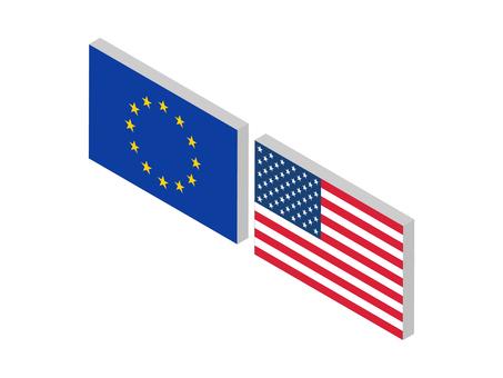 Currency pair (EURUSD: isometric)