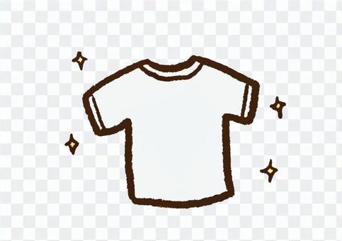 クレヨン_きれいなTシャツ