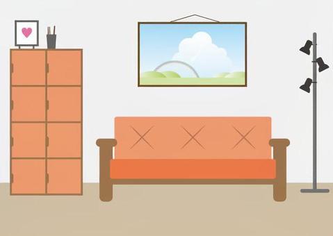 在室內的插圖3