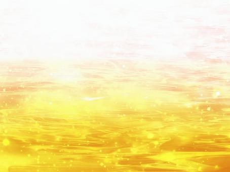 水面(黃色)