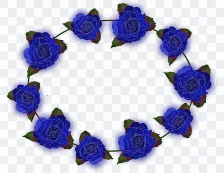 Rose blue loop
