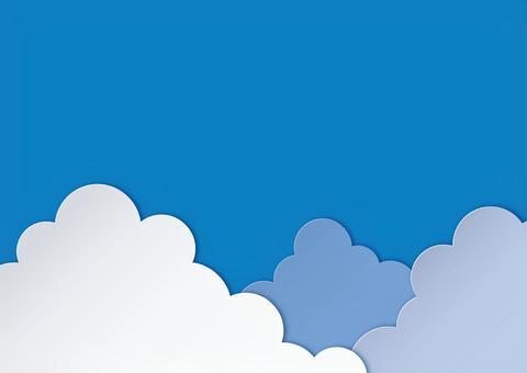 入道雲 フレーム