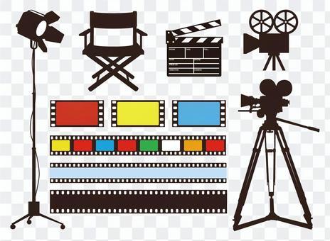 電影相關材料
