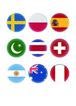 Flag button 3