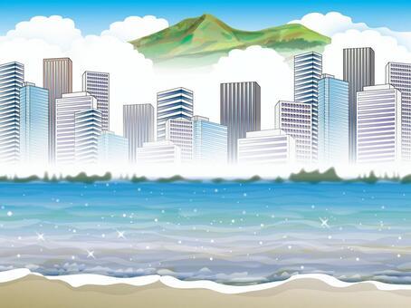 Image of big city and environment (2) Hong Kong style