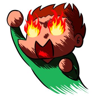 它正在燃燒! !
