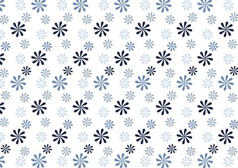 復古現代花紋壁紙