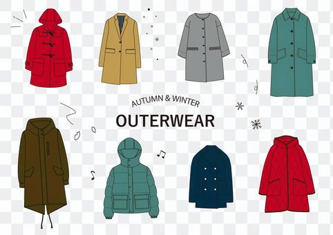 冬季外衣架圖