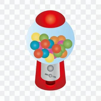 口香糖球機