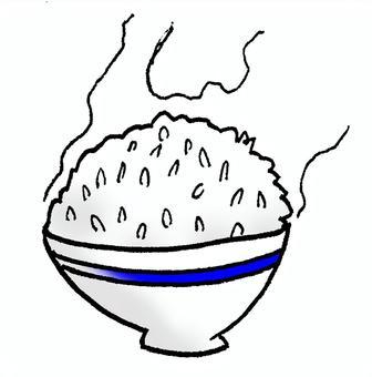 大米(白米飯)