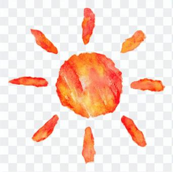 太陽水彩 - 簡單