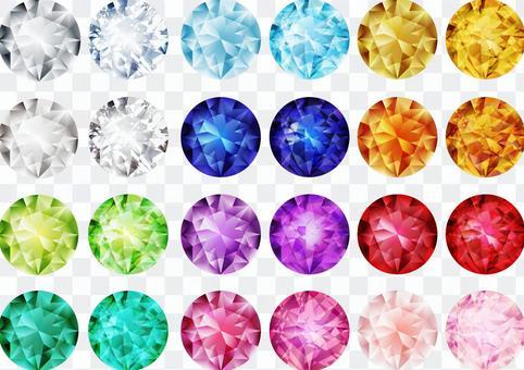 閃光珠寶(12色套裝)