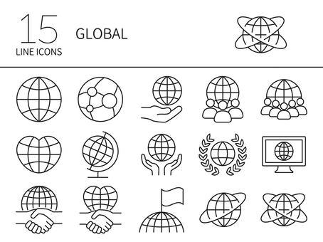 Global icon set