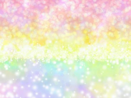 閃光光彩虹背景