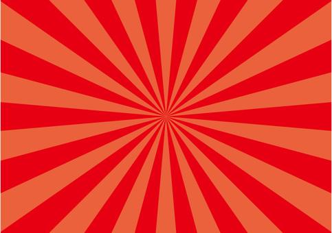 集中線 赤 背景