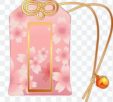 護身符框架C櫻花
