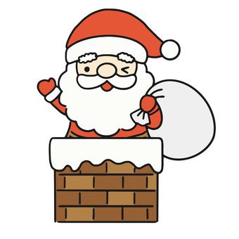 煙囪和聖誕老人