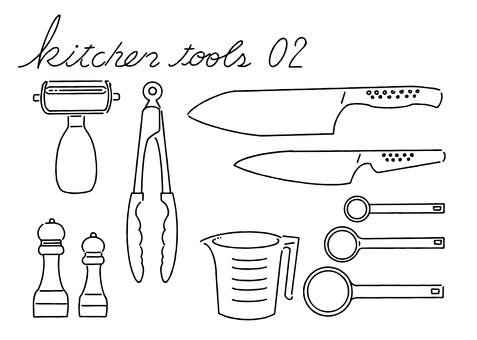 廚房用具 02