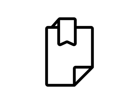 Labeled document icon