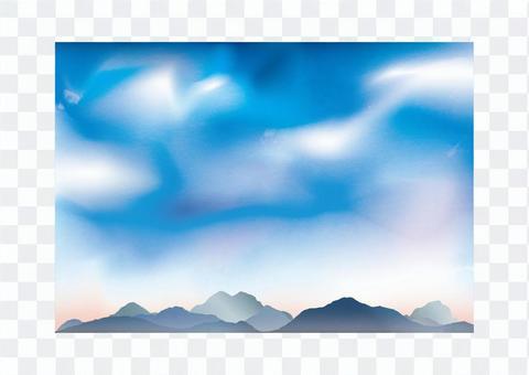 天空和雲彩04