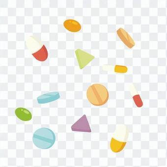 錠剤とカプセル