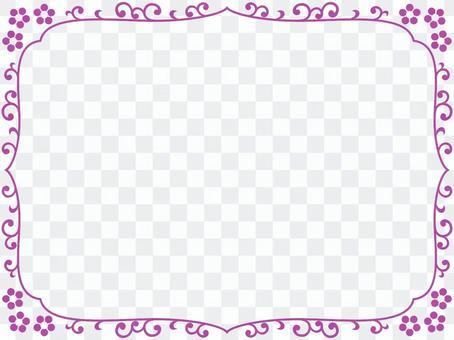 日式邊框簡約裝飾框架素材圖