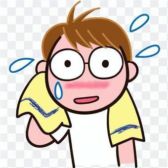 Dodgeball Sweat towel