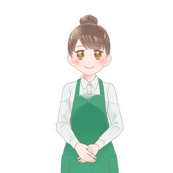 Clerk Female Smile Type L