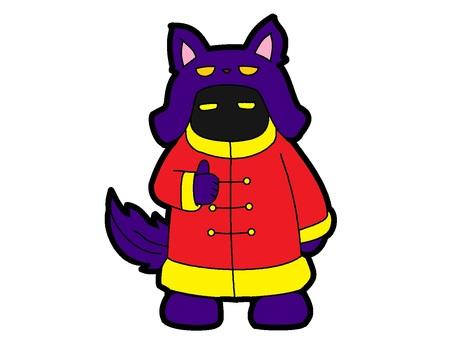 紫狼人古裝鬼