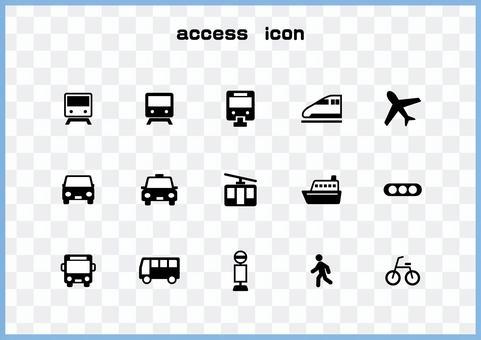 交通圖標集